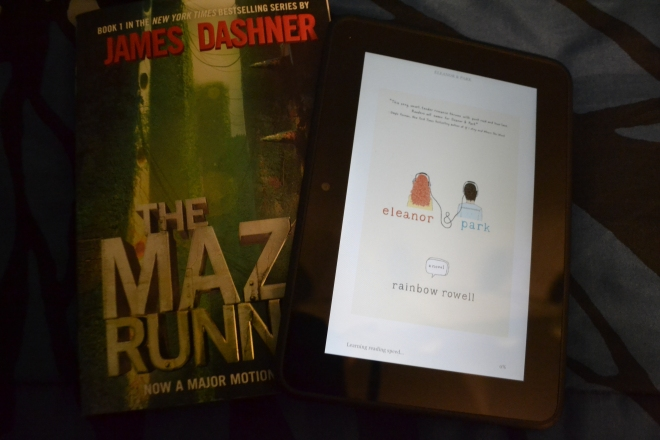 """The Maze Runner"" and ""Eleanor & Park"""