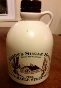 """My Memere's cousins own a """"sugar shack,"""" and my mom makes sure to get me syrup from back home each spring."""